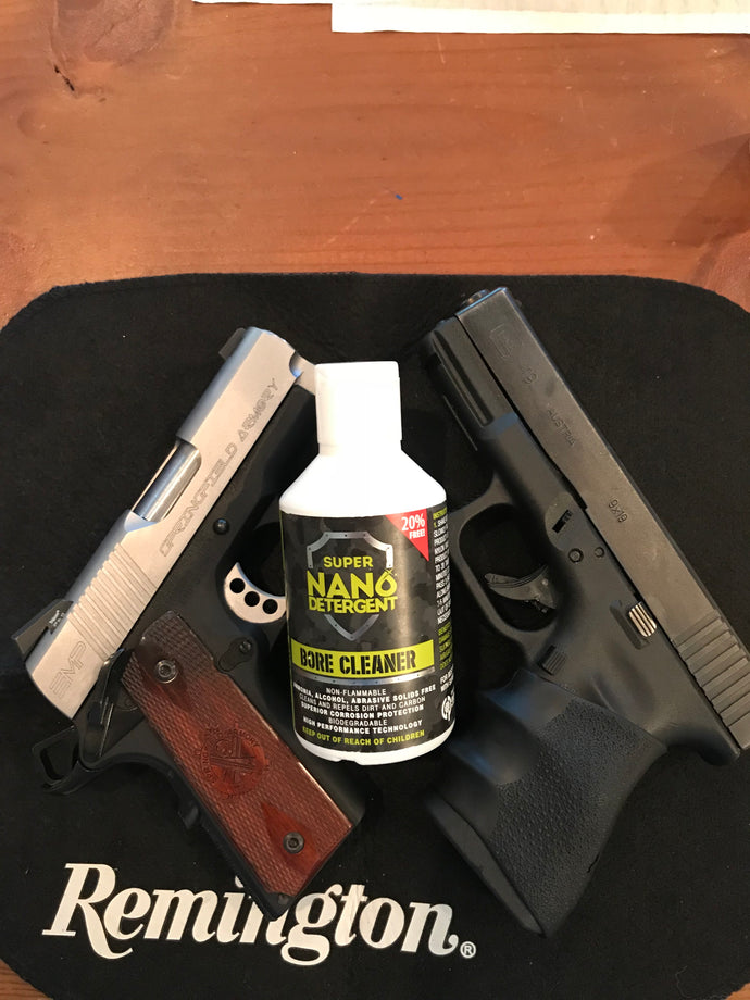 Review of Super Nano Detergent Bore Cleaner on 1911 and Glock