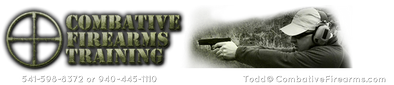 Proud to present Combative Firearms Training, LLC