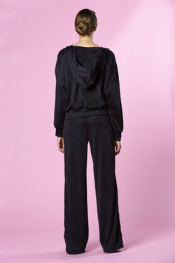 Silk Tracksuit Pants