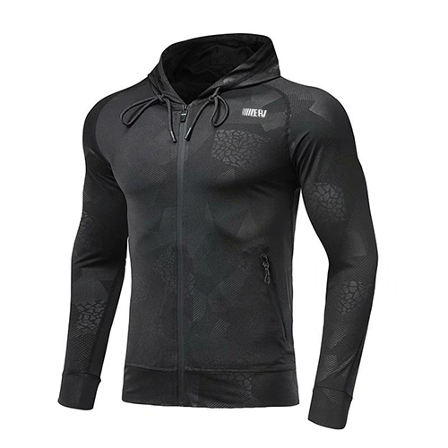 Men Tops Running Jacket