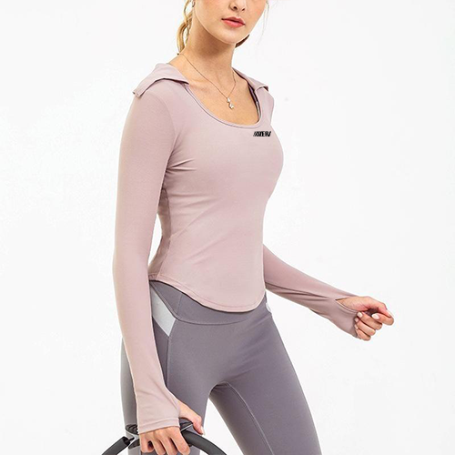 Training Lapel Long Sleeves