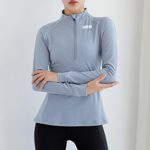 Semi-Zip Yoga Jacket