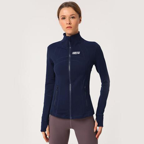 Solid Color Windproof Jacket