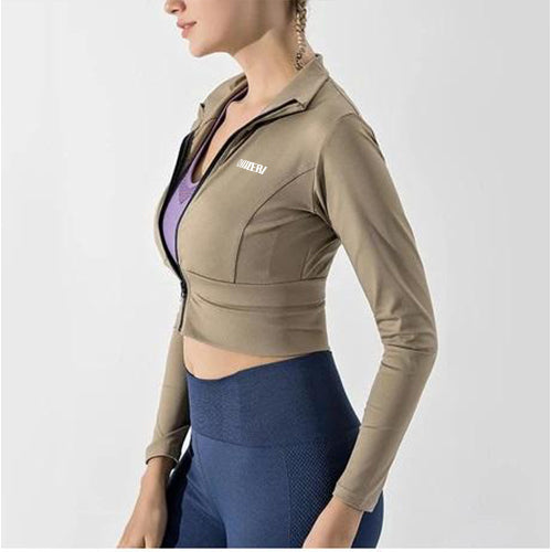 Pure Colour Yoga Jacket
