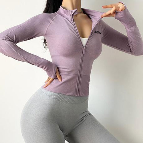 Quick-Dry Casual Yoga Jacket