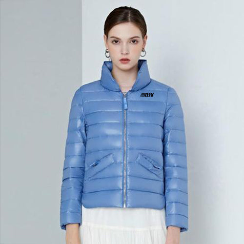 Stylish Zipper Down Jacket