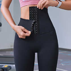 High-Waist Sexy Corset Leggings
