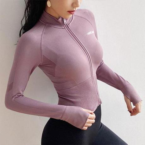 Training Fitness Zipper Jackets