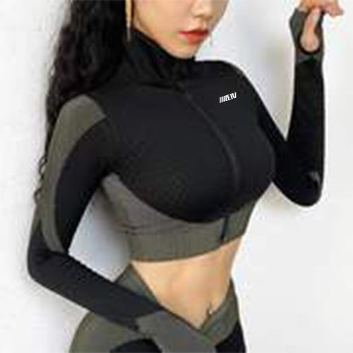 Seamless Sportswear Zipper Jacket