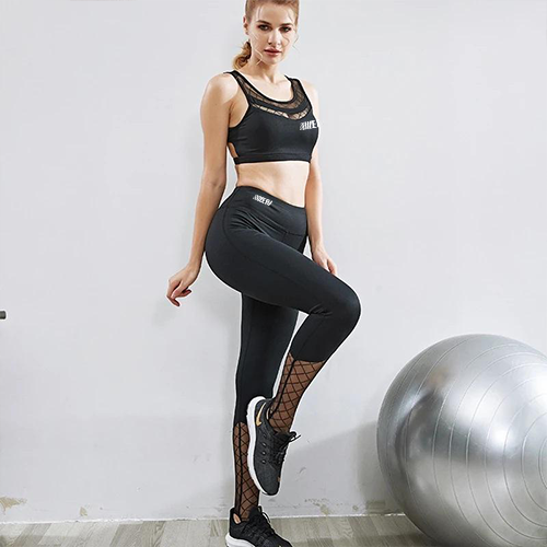 Cross Bra Leggings Set