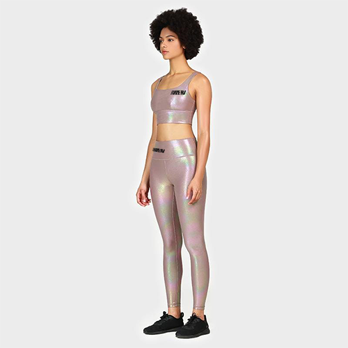 Bronzing Breathable Yoga Suit
