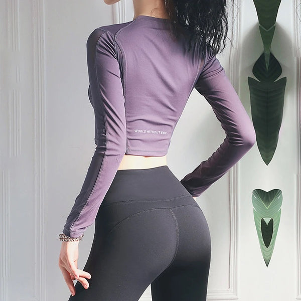 Breathable Sports Long Sleeves