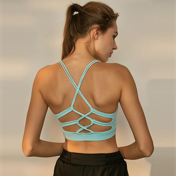 Hollow Breathable Sports Bras