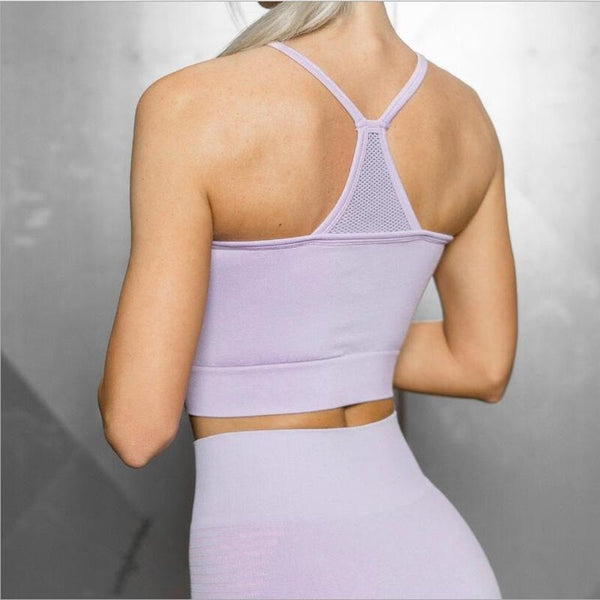 Hollow Out Impact Bra