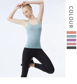 Slim Back Yoga Shirt