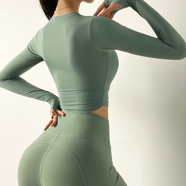 Translucent Yoga Long Sleeve