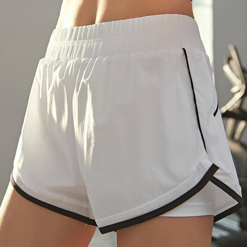 Two-Piece Breathable Yoga Shorts