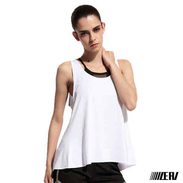 Round Blouse Tank Tops