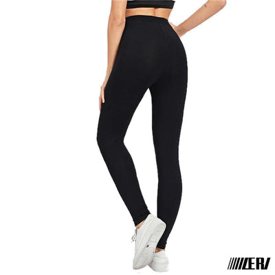 Zip Front Leggings