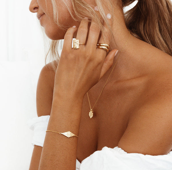 Stack Ring - 18k gold vermeil
