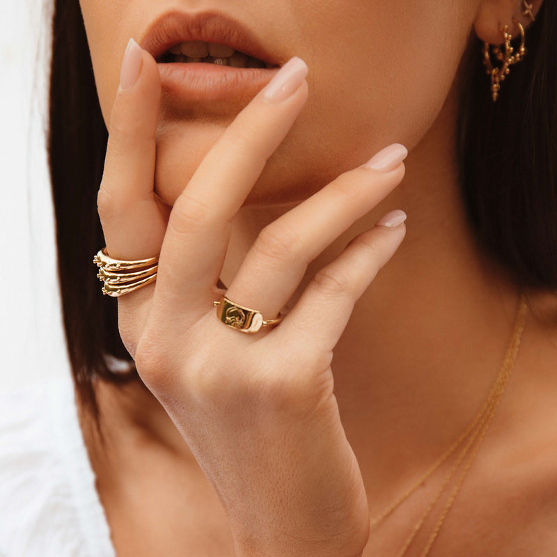 Dome Ring - 14kt gold fill