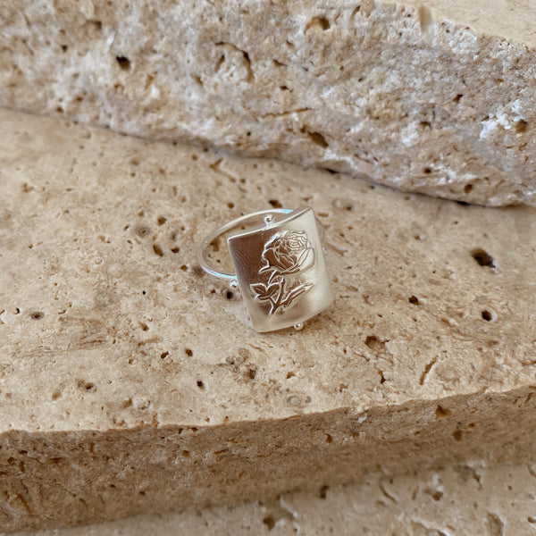 Rosa Ring - 925 sterling silver