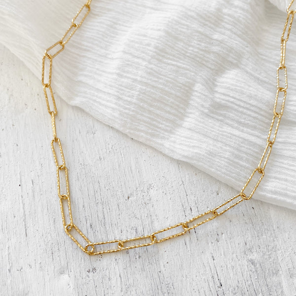 Kirra Chain Necklace - gold