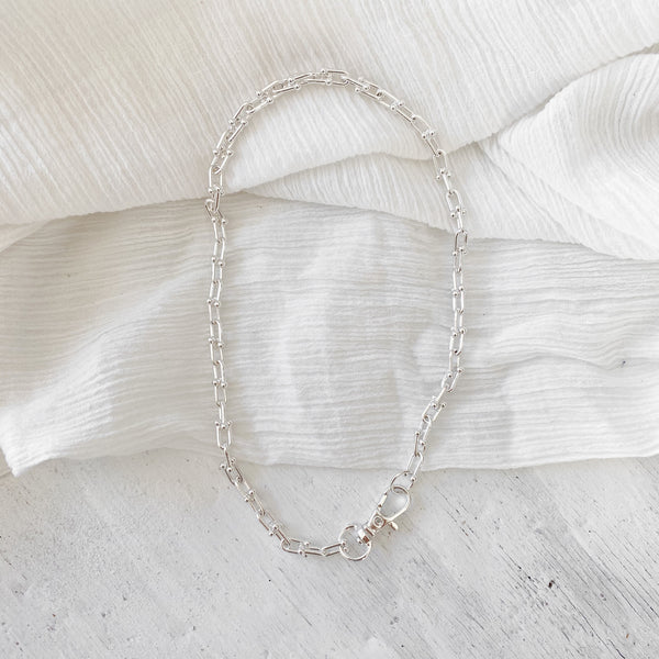 Jarra Chain Necklace - silver