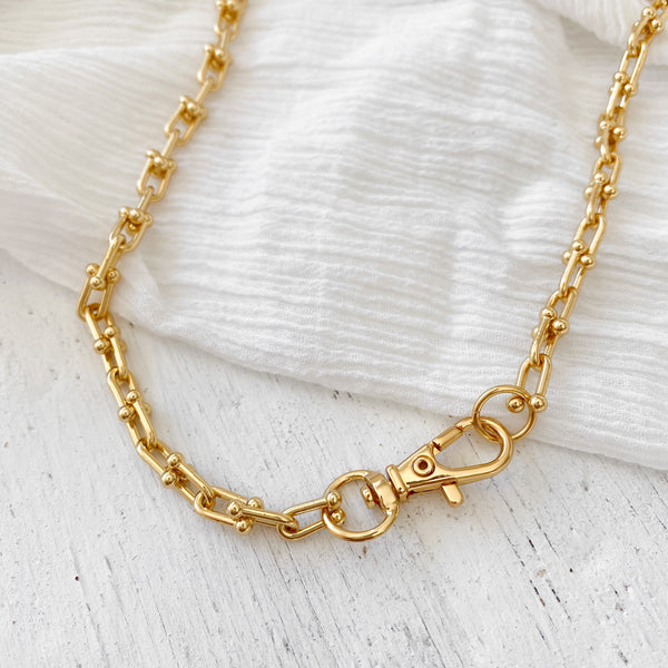 Jarra Chain Necklace - gold