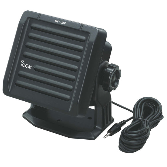 Icom External Speaker - Black [SP24] - Point Supplies Inc.