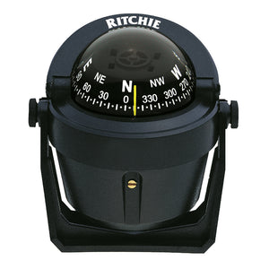 Ritchie B-51 Explorer Compass - Bracket Mount - Black [B-51] - Point Supplies Inc.