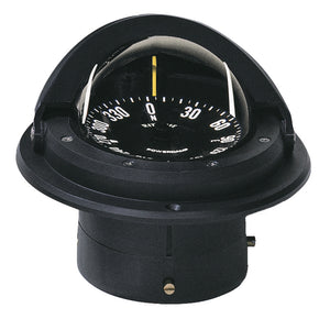 Ritchie F-82 Voyager Compass - Flush Mount - Black [F-82] - point-supplies.myshopify.com