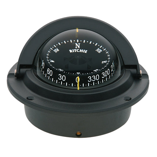 Ritchie F-83 Voyager Compass - Flush Mount - Black [F-83]-Ritchie-Point Supplies Inc.
