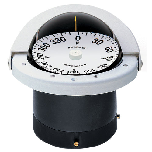 Ritchie FN-201W Navigator Compass - Flush Mount - White [FNW-201]-Ritchie-Point Supplies Inc.