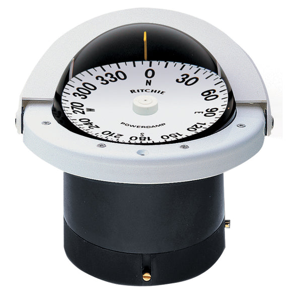 Ritchie FN-201W Navigator Compass - Flush Mount - White [FNW-201] - Point Supplies Inc.