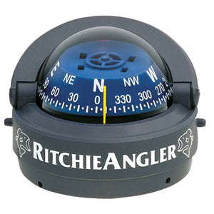Ritchie RA-93 RitchieAngler Compass - Surface Mount - Gray [RA-93] - Point Supplies Inc.