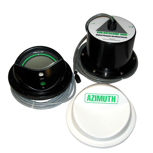 KVH Azimuth 1000 Remote - Black [01-0145]-KVH-Point Supplies Inc.