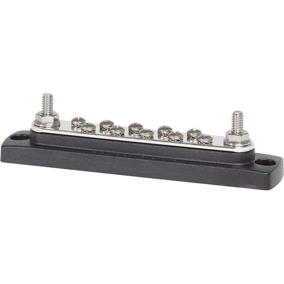 Blue Sea 2301 150AMP Common BusBar 10 x #8-32 Screw Terminal [2301] - point-supplies.myshopify.com