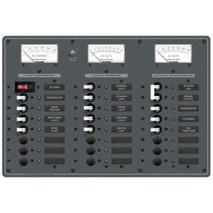 Blue Sea 8184 AC Main + 6 Positions/DC Main +15 Positions [8184] - Point Supplies Inc.