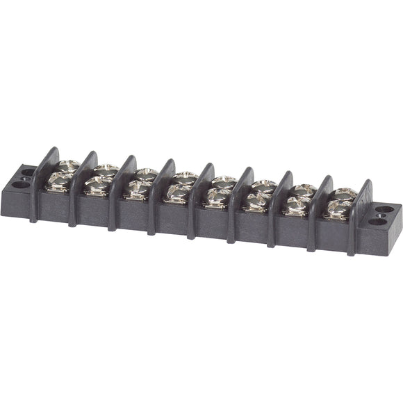 Blue Sea 2408 Terminal Block 20AMP - 8 Circuit [2408] - point-supplies.myshopify.com