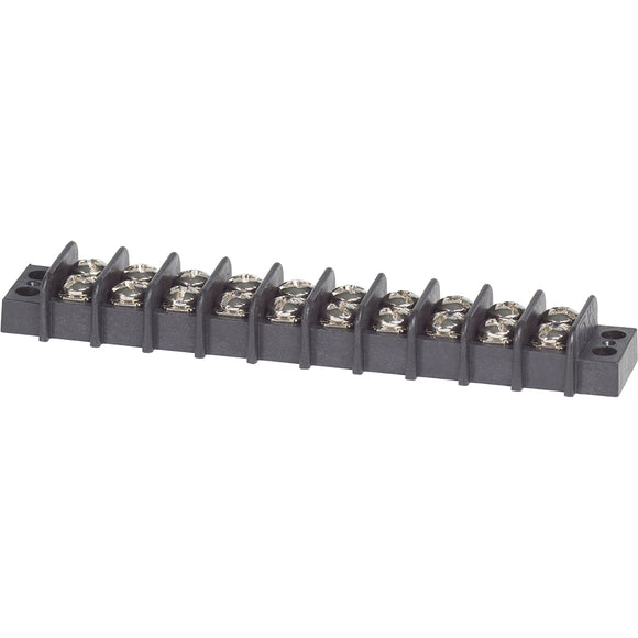Blue Sea 2410 Terminal Block 20AMP - 10 Circuit [2410] - point-supplies.myshopify.com