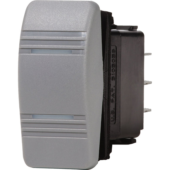 Blue Sea 8232 Water Resistant Contura III Switch - Grey [8232] - Point Supplies Inc.