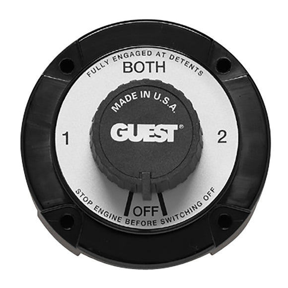 Guest 2111A Heavy Duty Battery Selector Switch [2111A] - Point Supplies Inc.