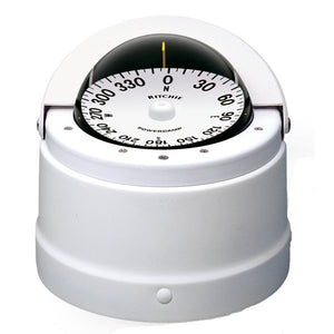 Ritchie DNW-200 Navigator Compass - Binnacle Mount - White [DNW-200] - Point Supplies Inc.