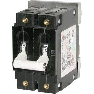 Blue Sea 7268 175A Double Pole Circuit Breaker [7268] - Point Supplies Inc.