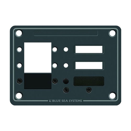 Blue Sea 8088 3 Position DC C-Series Panel - Blank [8088]-Blue Sea Systems-Point Supplies Inc.