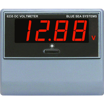 Blue Sea 8235 DC Digital Voltmeter [8235]-Blue Sea Systems-Point Supplies Inc.