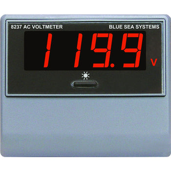 Blue Sea 8237 AC Digital Voltmeter [8237]-Blue Sea Systems-Point Supplies Inc.