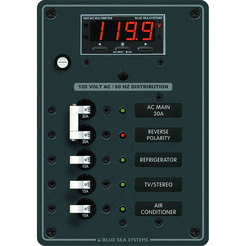 Blue Sea 8405 AC Main + 3 Positions [8405]-Blue Sea Systems-Point Supplies Inc.
