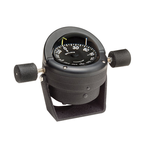 Ritchie HB-845 Helmsman Steel Boat Compass - Bracket Mount - Black [HB-845]-Ritchie-Point Supplies Inc.